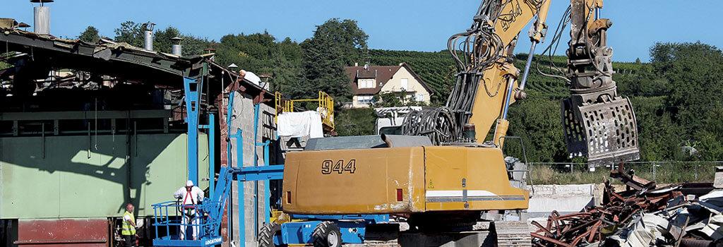 Lutz Bau: die Spezialisten für fachgerechten Asbestabbau